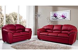 Divano Rosso Ecopelle : Www.arreditu.com arredamenti completi scontati vendita mobili